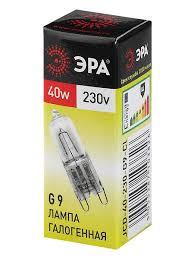 Набор из 10 галогенных <b>лампочек</b> ЭРА <b>G9</b>-<b>JCD</b>-<b>40</b>-230V-<b>CL</b> Эра ...