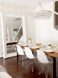 dining room table mirror top: saveemail fbcacda  w h b p contemporary dining room