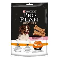 <b>Лакомство Pro Plan</b> Biscuits с лососем и рисом, 5уп*175г ...