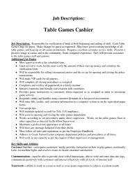 cashier description for resume getessay biz cashier job description resume for cashier description for