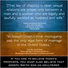 polygamy just another apostate was joseph an adulterer