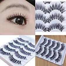 Bloodfin 3D False Eyelashes, 7 <b>Pair</b> Professioanl Exquisite Eyelash ...