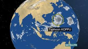 Image result for typhoon koppu 2015