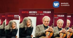 VC GIVEAWAY   Win 1 of 5 Signed New <b>Martha Argerich</b> & <b>Itzhak</b> ...
