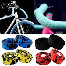 1 <b>Pair</b> Road <b>Bike</b> Handlebar Tape Cork <b>Anti slip Bicycle</b> Carbon ...