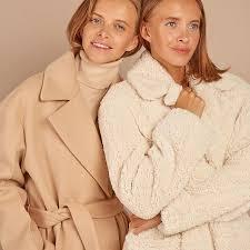 Пальто с широкими плечами в интернет-магазине — <b>12Storeez</b>