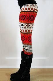 <b>Stylish Elastic Waist</b> Slimming Printed Women's <b>Christmas</b> Leggings ...