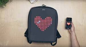 Pix: A <b>Smart</b> Backpack With A <b>Customizable LED</b> Screen - Arıkovanı