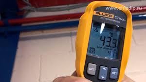 <b>Fluke 62</b> MAX +, инфракрасный термометр - YouTube