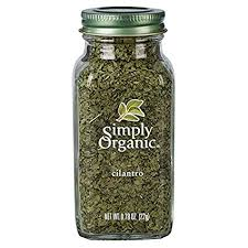 Simply Organic Cilantro Leaf, Cut & Sifted, Certified ... - Amazon.com