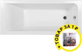 <b>Акриловая ванна Aquanet Bright</b> 180x70 с каркасом + штора в ...