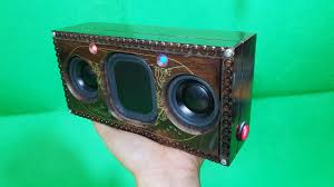 Building <b>Bluetooth Speaker</b> with Wooden Makeup Box - YouTube