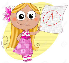 a girl good grades clipart clipartfest good grades a happy cute girl