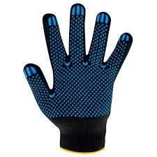 <b>Перчатки</b> вязаные <b>п</b>/<b>шерстяные с</b> ПВХ 6 нитей (зима)