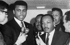 dr martin luther king muhammad ali and what their secret dr martin luther king jr and muhammad ali speak reporters in louisville ap photo