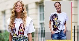 Модные <b>женские футболки</b> 2020: главные новинки сезона ...
