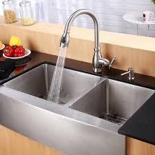 kitchen dual farm sink