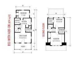 images about Tiny house floor plan on Pinterest   Floor    B  Plans   Tumbleweed Tiny House Company    add on sf