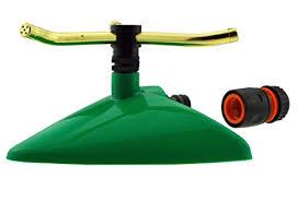 <b>Rotating Garden</b> Lawn <b>Sprinkler</b> + Free Hose Connector, Hozelock ...