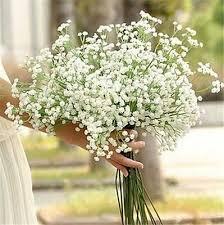 1 Head Romantic Baby's <b>Breath</b> Gypsophila Silk Flower Party ...