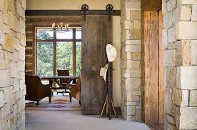 rustic home office is a excellent place to attempt out the classic barn door from architects sliding door office