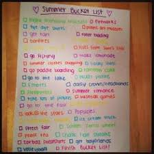 Imprints From Tricia : Our Interactive <b>Summer Bucket</b> List Board ...