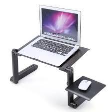 Adjustable <b>Folding Laptop</b> Table Desk Bed Sofa Computer Tray ...