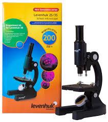 <b>Микроскоп Levenhuk 2S NG</b>, монокулярный