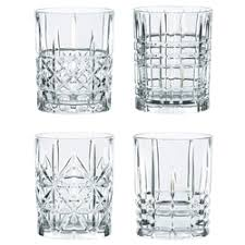 «<b>Набор</b> бокалов для виски Highland 345 мл, <b>4 шт</b>, хрусталь ...