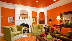 Warm Living Room Colors Magnificent Warm Color Wall Paint And Brown Shades Sofa Design
