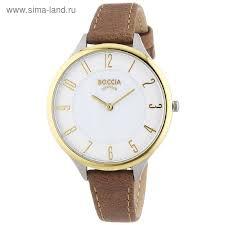 <b>Часы</b> наручные <b>BOCCIA 3240-02</b> (1473892) - Купить по цене от 8 ...