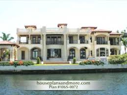 Waterfront Houses Video   House Plans and More   YouTube