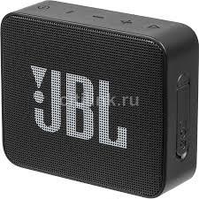 Портативная <b>колонка JBL GO 2</b>, 3Вт, черный, отзывы ...