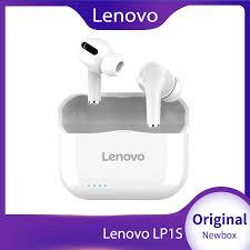 <b>Lenovo LP1S</b> TWS <b>Wireless</b> Earphone <b>Bluetooth</b> Upgraded Version ...
