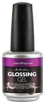 <b>Верхнее глянцевое покрытие для</b> ногтей Glossing Gel Soak Off ...