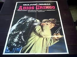 Original Peruvian Movie Poster Adios Gringo Giuliano ... - Amazon.com