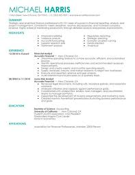 simple accounting  amp  finance resume examples   livecareercreate resume