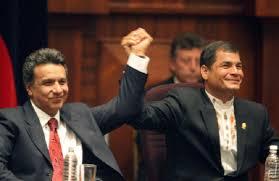 Lenín Moreno está optimista y proyecta superar el 40% de votos en las presidenciales en Ecuador.