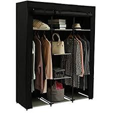 Blissun 59'' Portable Clothes Closet Non-Woven ... - Amazon.com