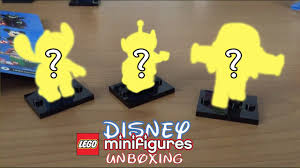 Lego Minifigure <b>Disney</b> Unboxing Space <b>Trio</b> -- <b>Stitch</b>, Alien, Buzz ...