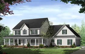 New England Inspired Homes   The House Designersnew england homes