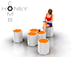honeycomb modular furniture system by nyadadesign modular furniture system