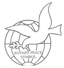 Image result for rotary world understand and peace logo