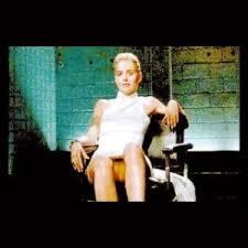Resultado de imagem para sharon stone cruzando as pernas