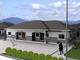 Best Bungalow Houses in Nigeria Ranch Style House  best bungalow    Best Bungalow Houses in Nigeria Ranch Style House