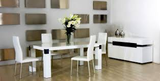 Dining Room Table Centerpieces Modern Modern White Dining Room Chairs Collection Contemporary Dining