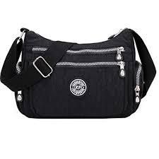 <b>Women Messenger Bag</b> Casual Waterproof <b>Nylon</b> Handbag ...