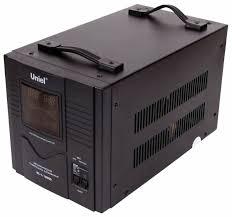 <b>Стабилизатор</b> напряжения однофазный <b>Uniel RS</b>-<b>1</b>/10000 ...