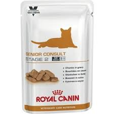 <b>Паучи Royal Canin ВКН</b> Senior Consult Stage 2 диета для кошек ...