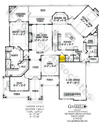 Shady Grove Cottage House Plan   House Plans by Garrell Associates    shady grove cottage house plan   st floor plan